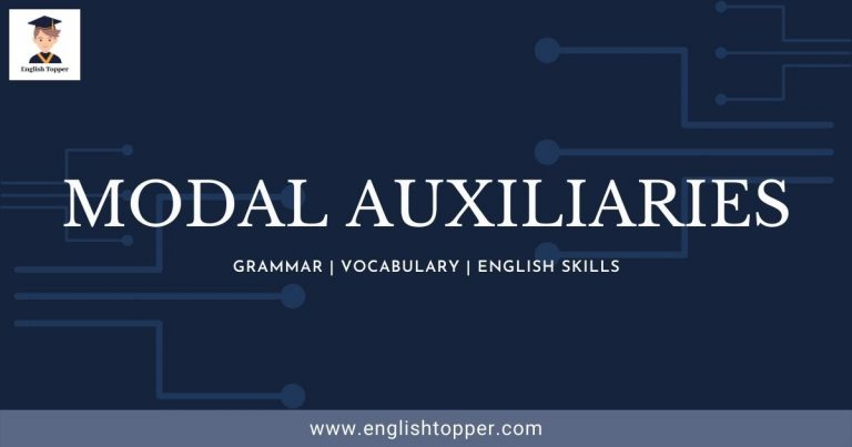 Modal Auxiliaries | (Definition & Examples) | (Guide 2021)